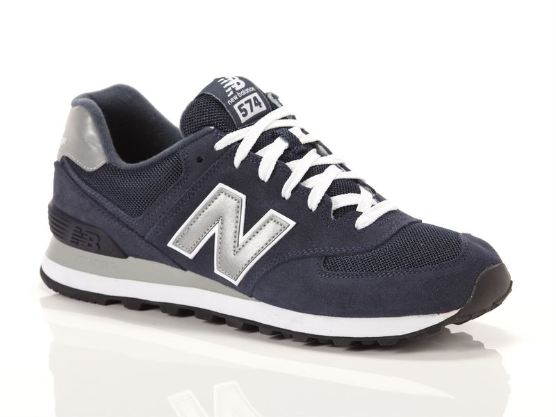 Image of New Balance 574 navy, 41½, 42½ Uomo, Negro