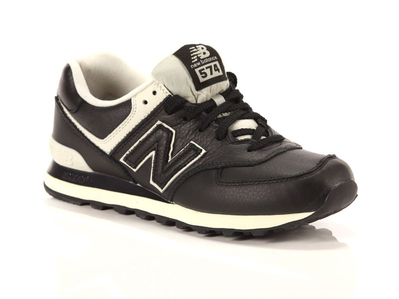 Image of New Balance 574 black, 41½ Uomo, Negro