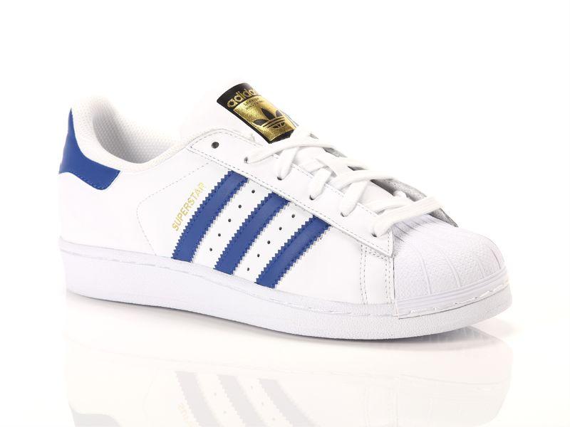 Image of Adidas superstar foundation j light blue, 38 NoirNegro