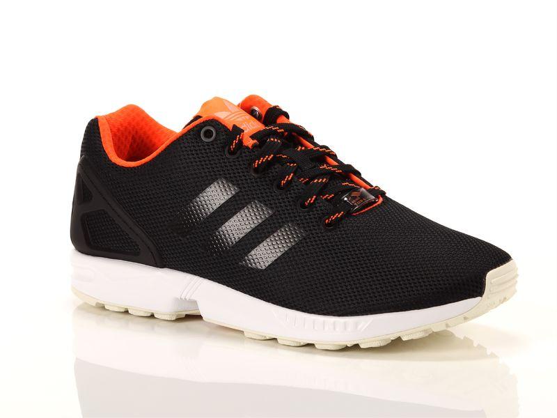 Image of Adidas zx flux nero arancione, 38, 40