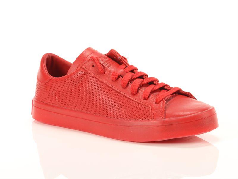Image of Adidas court vantage adicolor rosse, 38
