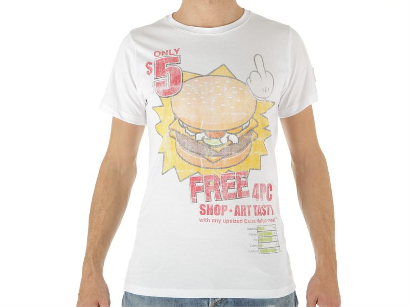 Image of Shop Art t-shirt art tasty, S Uomo, AzulBleu